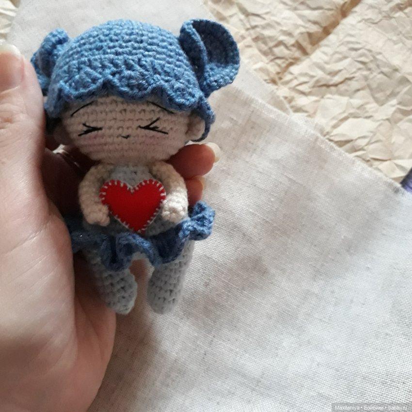 Куколка-амигуруми Мышка Мия