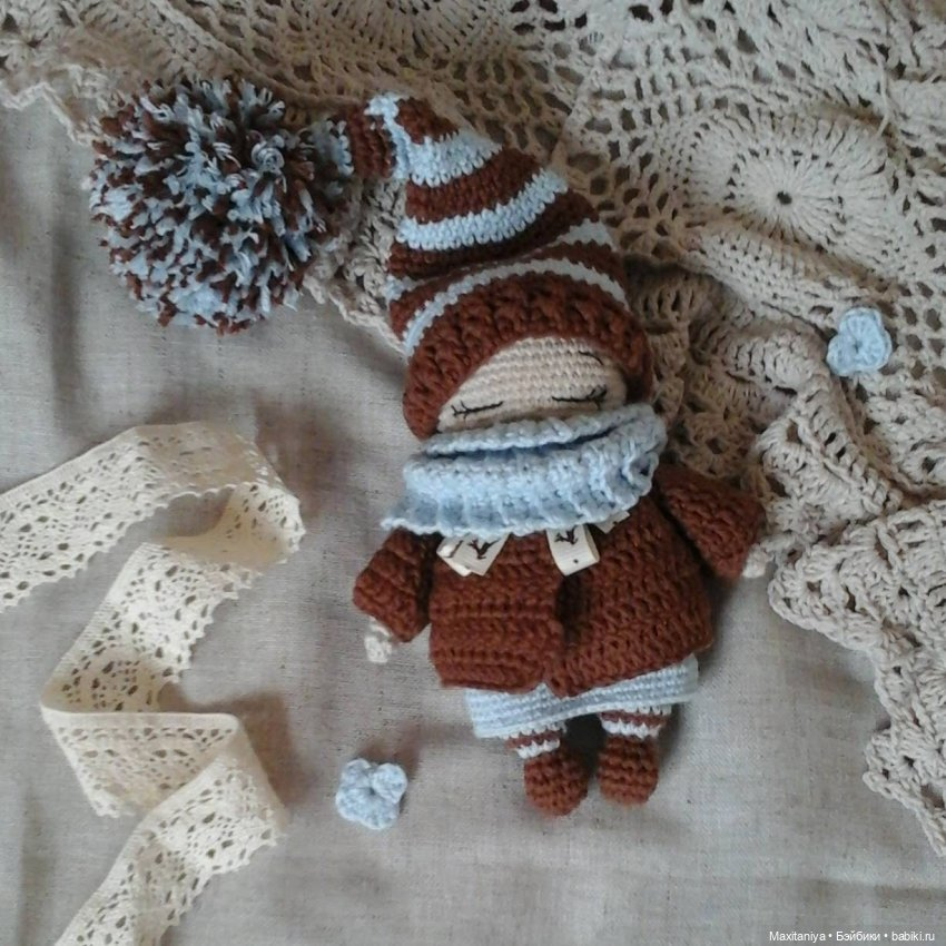 Куколка-амигуруми Сонюшка