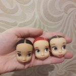 головы кукол