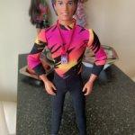 Кукла Кен лыжник Winter Sport шарнирный
