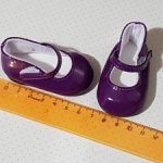 Обувь для кукол с ножкой 7см