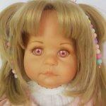 Кукла из винила от Hildegard Gunzel фирмы Gotz, молд 451-20