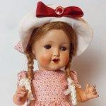 Кукла Зоннеберг 40-е г, Германия.