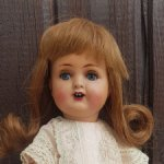 Антикварная куколка 1920-х, Германия