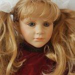 Коллекционная кукла фирмы Fiba, Италия