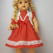 Антикварная кукла Sonneberg, начала 40-х годов, 55 см.