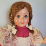 Кукла Hans Volk, середина 30х гг, Германия