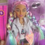 Барби Экстра с Радужными волосами