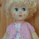 Кукла Марина фабрика 8 марта 65 см. ранний выпуск