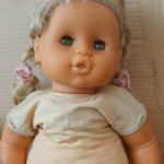 Огромная кукла ГДР редкая