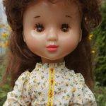 Кукла СССР Василиса Днепропетровск паричковая 60 см. Редкая