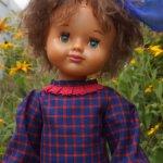 Кукла СССР Лида Днепропетровск 65 см.