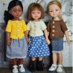 "Мастер-класс по вязанию кофточки ""Хюгге"" для кукол Paola Reina (32-34 см)"