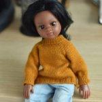 "PDF мастер-класс ""Просто маленький свитер"" для кукол Paola Reina (32-34 см)"