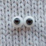 Глаза стекло Лауша зеленые 8 мм