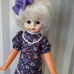 Большая кукла Люда