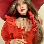 Аутфит для БЖД куклы SD с украшениями