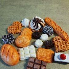 Набор#2- выпечка,хлеб,конфеты,шоколад.