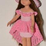 Платье для кукол Paola Reina