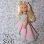 Наряд для кукол Paola Reina (платье, накидка, трусики)