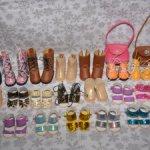 Скидка!!! Босоножки для кукол Paola Reina