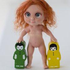 Мальчик или девочка? Силиконовый малыш на каркасе