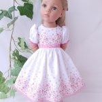 Платье на кукол Gotz 50 см.