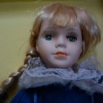 Коллекционная фарфоровая кукла Снегурочка
