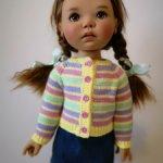 Кофточки для больших кукол (46 см) Meadow dolls, подходят для Бейли, Саффи и Сильвии-Скарлет