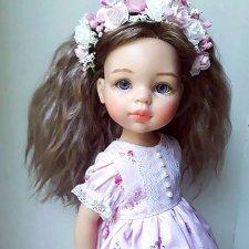 Ооак куклы Паола Рейна - Девочка-розочка.
