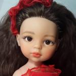 Ооак куклы Паола Рейна-девочка-сеньорита.