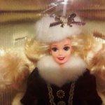 Happy Holidays Barbie 1996