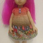 Шикарное платье для boneka