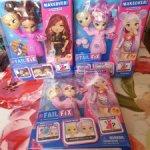 Куклы FailFix Loves Glam и Kawaii Qtee
