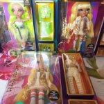 Куклы Rainbow High из 1й и 2й серии: Sunny Madison и Karma Nichols
