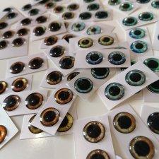 Глаза для Блайз 14мм мерцающие