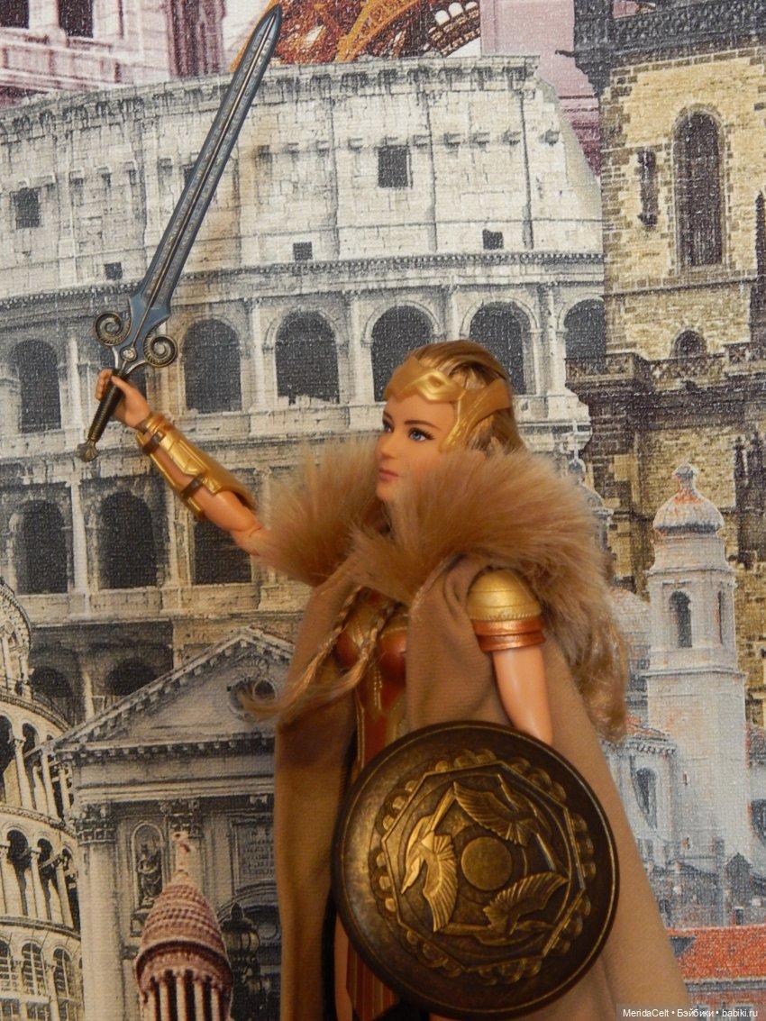 Ипполита, амазонка, wonder woman, чудо-женщина, mattell