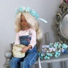 Куколки и цветы - созданы друг для друга