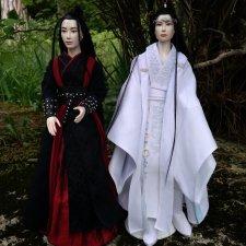 Волшебный мир дорамы «Неукротимый: Повелитель Чэньцин» и авторские бжд куклы