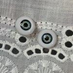 Глаза для паолок 12 мм живой взгляд сине желтые