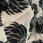 Ткань крепдешин натуральный шелк