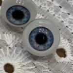 Глазки живой взгляд 12 для Паолок голубые
