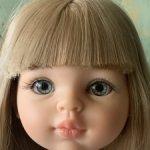 Голова куколки Паола рейна  сплюшка-полусплюшка
