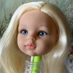 Голова куколки Паола рейна блонди сплюшка
