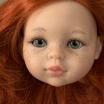 Голова куколки Паола рейна Кристи рыжик живые глазки