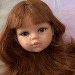 Голова куколки Паола рейна Кристи живые глазки
