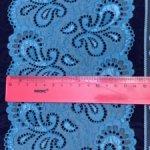 Кружево голубое 14 см