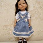 Одежда и обувь для кукол готц 36 см