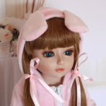 Девочка зайка от NPK Doll