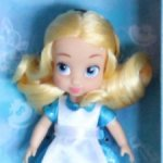Алиса, редкая куколка. Мини Аниматорсы, 2016 года (Disney Animators mini)